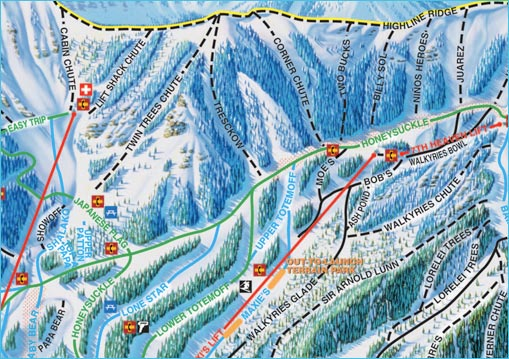 MyTrailMap.com: Snowboarding and Skiing - Maps, Videos, Photos ... on